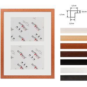 """Galerij lijst voor 2 """"Uppsala"""", 30x40 cm - 15x20 cm"""
