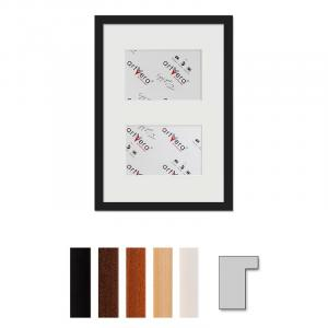"""Galerij lijst voor 2 """"Lund"""", 25x35 cm - 10x15 cm"""