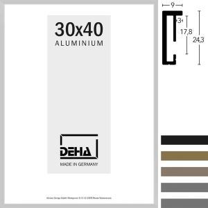Lijst van aluminium Vega op maat
