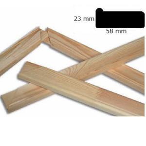 Spierraamn 5,8x2,3 cm op maat