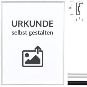 """Lijst van aluminium """"Econ rond"""" voor certificaten"""