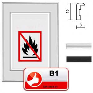 """Lijst naar standaard B1 brandpreventie """"Econ rond"""""""