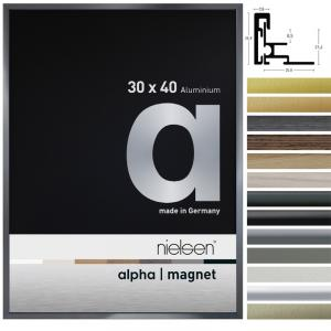 Lijst van aluminium Alpha Magneet