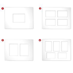 Galerij passe-partout 2,5 mm, buitenformaat 30x40