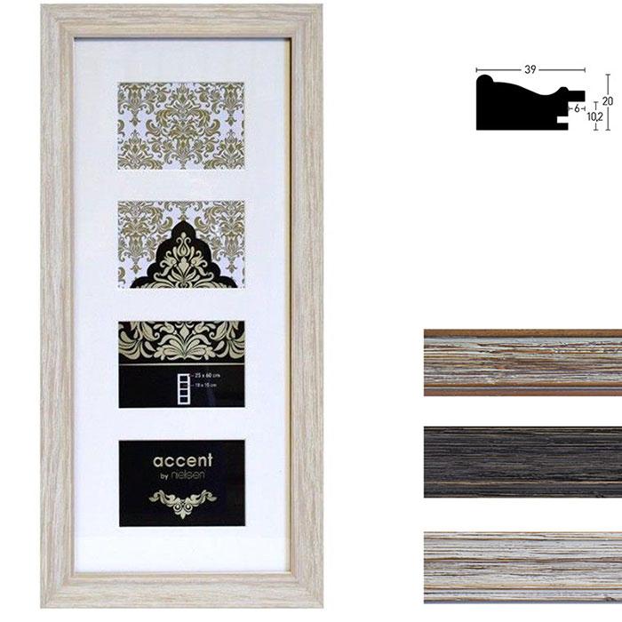 Lijst galerij van hout Vintage