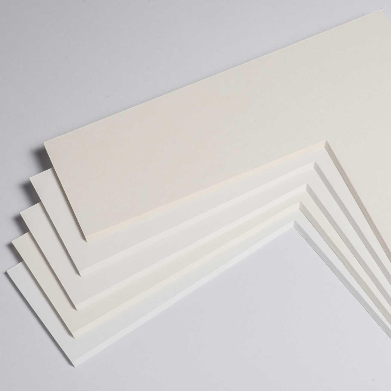 2,2 mm museumkarton met individueel knipsel
