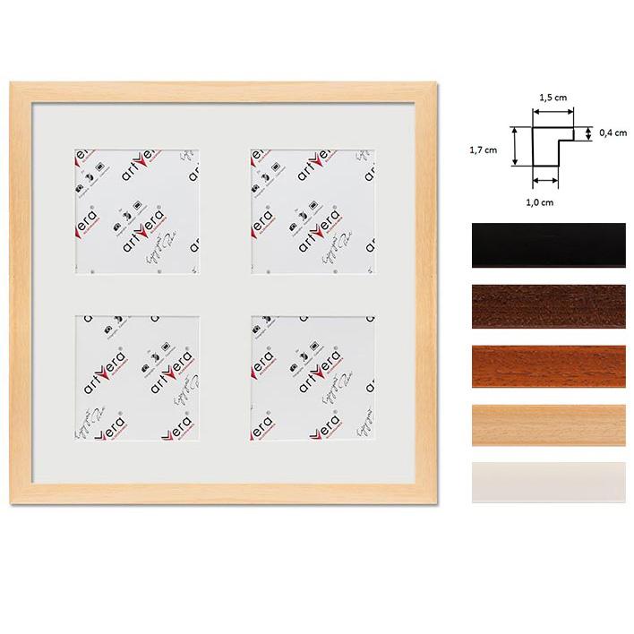 """Galerij lijst voor 4 """"Uppsala"""", 30x30 cm - 10x10 cm"""