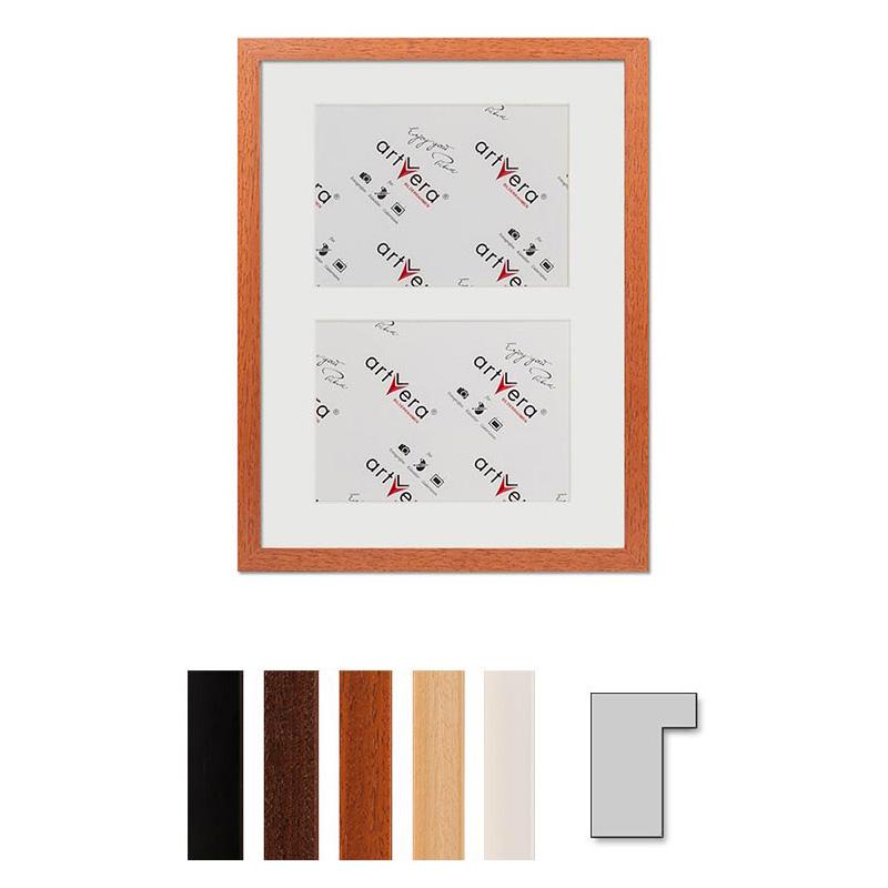 """Galerij lijst voor 2 """"Lund"""", 30x40 cm - 15x20 cm"""