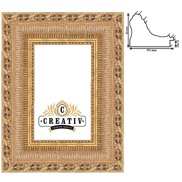 Baroklijst Cesena op maat