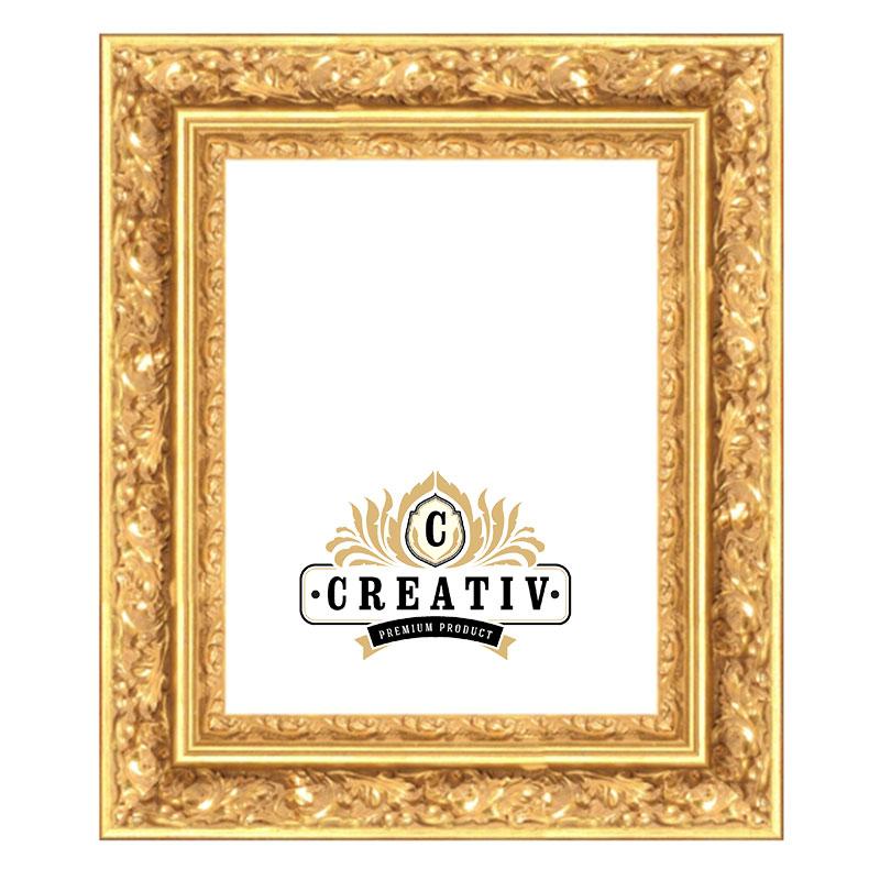 Baroklijst Venezia 24x30 cm   goud   lege lijst (zonder glas en achterwand)