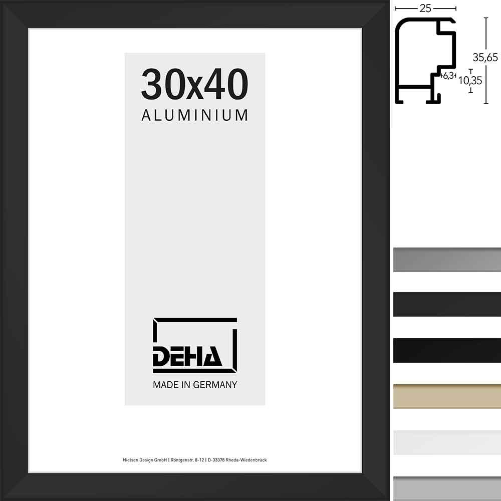 Afstandlijst van aluminium Spika 40x50 cm | wit RAL 9016 | plexiglas