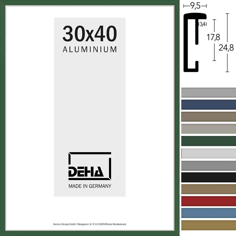 Lijst van aluminium Superba