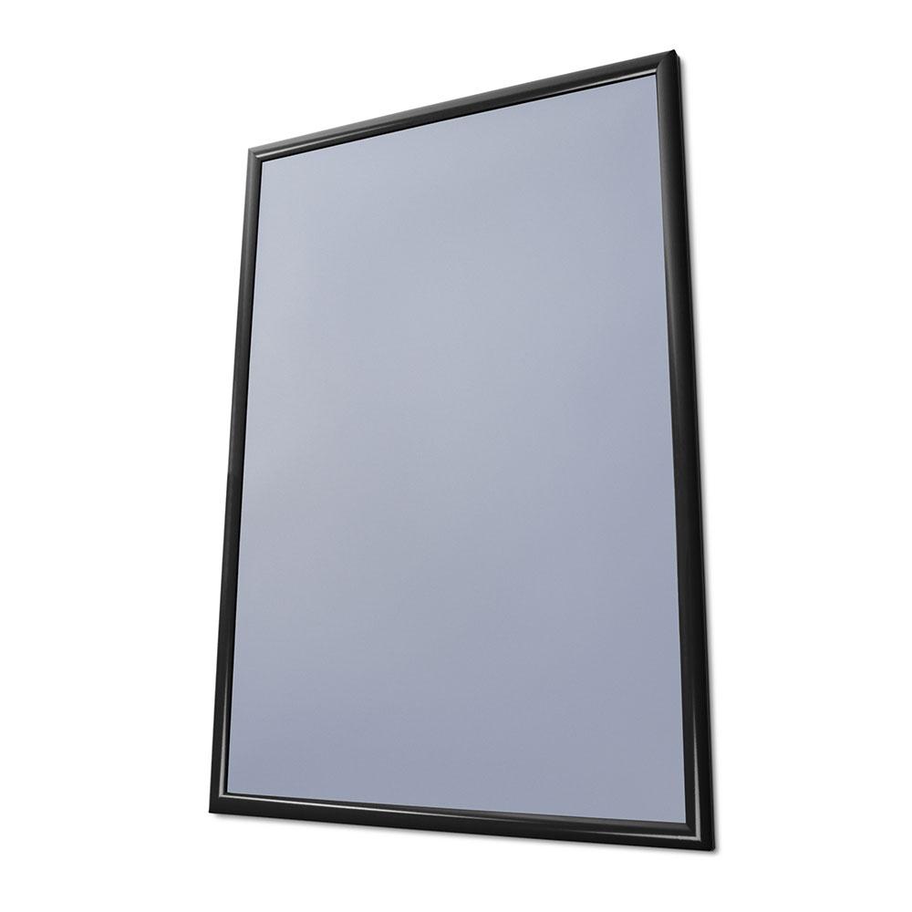 Vouwframe Color, 25 mm 59,4x84,1 cm (A1) | donker zwart RAL 9005 | folie anti-spiegeling