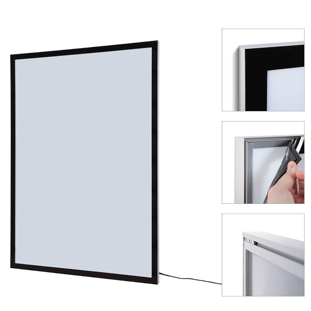 Magnetisch LED lijst voor affiche