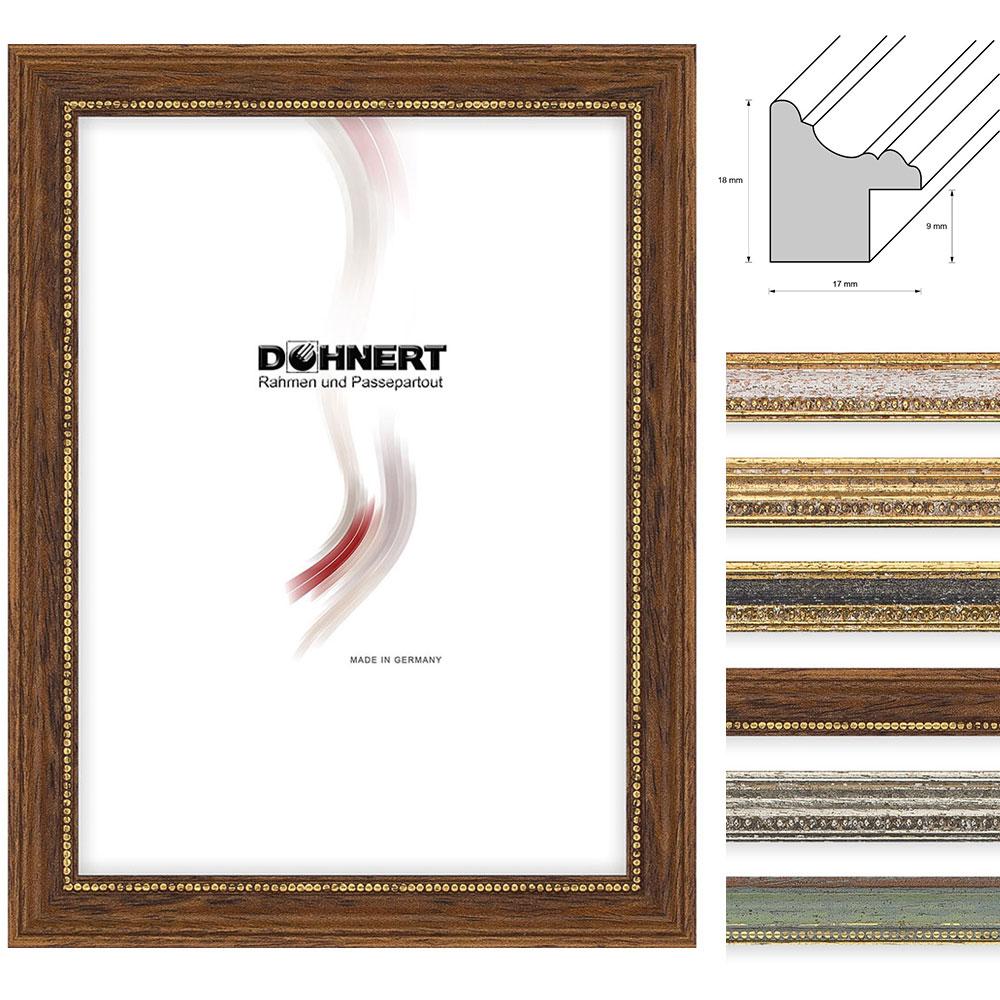 Lijst van hout Chalfont 21x29,7 cm (A4) | groen | normaal glas