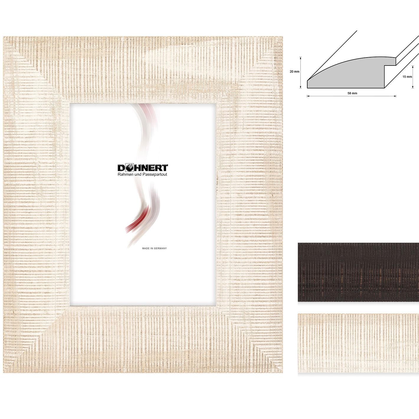 Lijst van hout op maat Stamford Brook