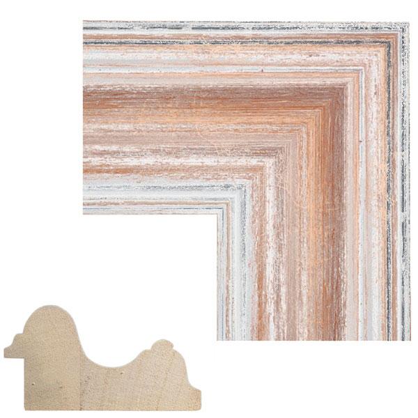 Lijst van hout op maat Giomano