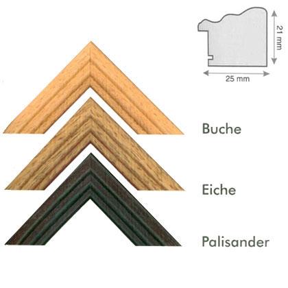 Lijst van hout op maat Karloof