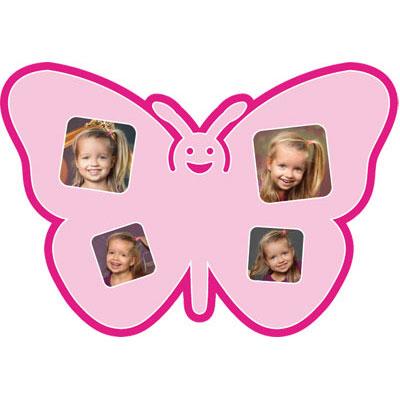 """Passe-partout met motief """"vlinder"""""""
