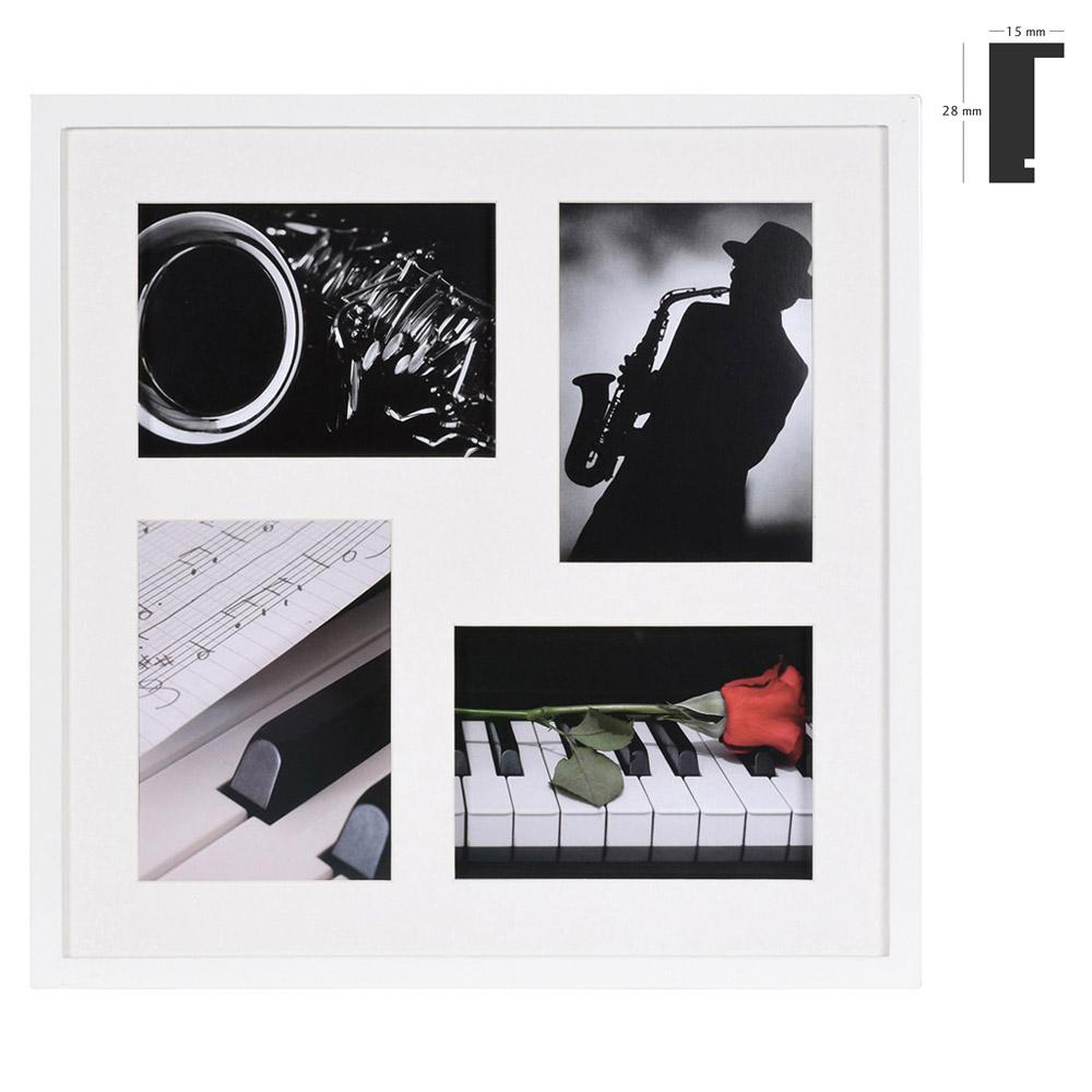 Galerij lijst Piano voor 4 beelden