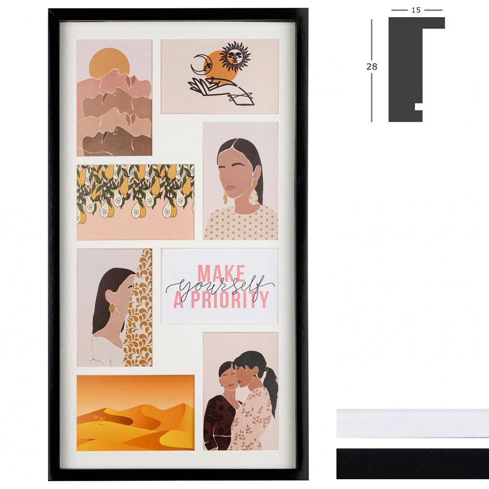 Galerij lijst Piano voor 8 beelden