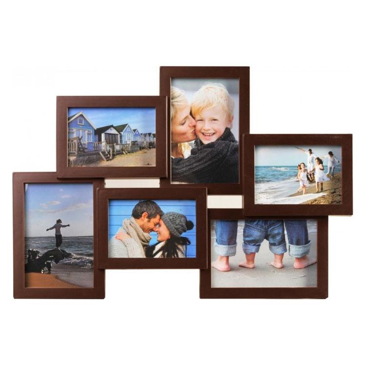 Galerij lijst Holiday 13x9 cm, 15x10 cm   bruin   normaal glas