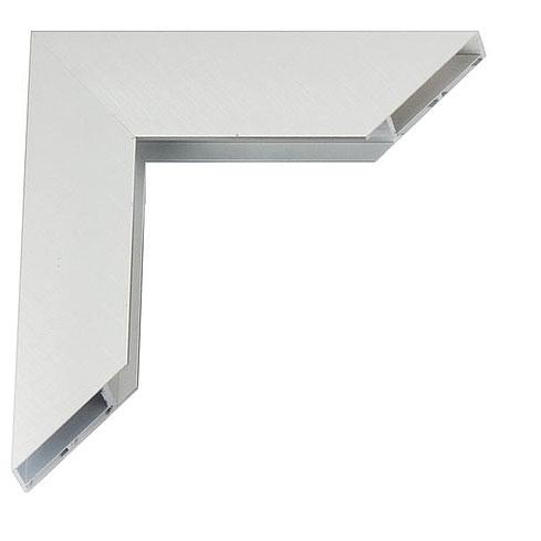 Giga lijst van aluminium 20x30 cm   Silber matt, kreuzgebürstet   lege lijst (zonder glas en achterwand)
