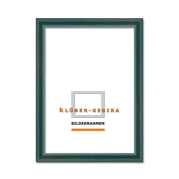 Lijst van hout Siero 21x29,7 cm (A4)   groenblauw, donker   normaal glas