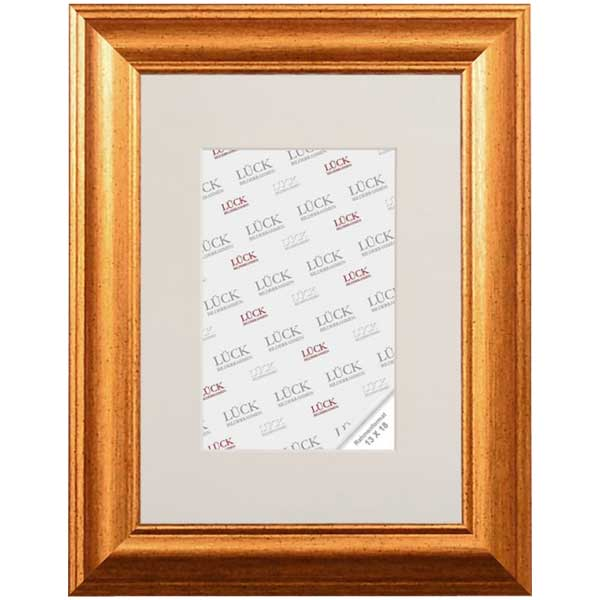 Lijst van plastiek Wallhausen 7x10 cm | goud | normaalglas