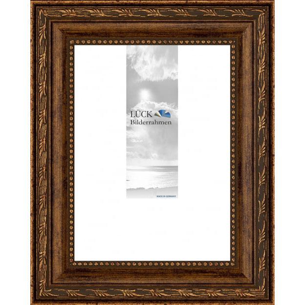 Baroklijst Fichtenau 30x40 cm | brons | antireflecterend glas