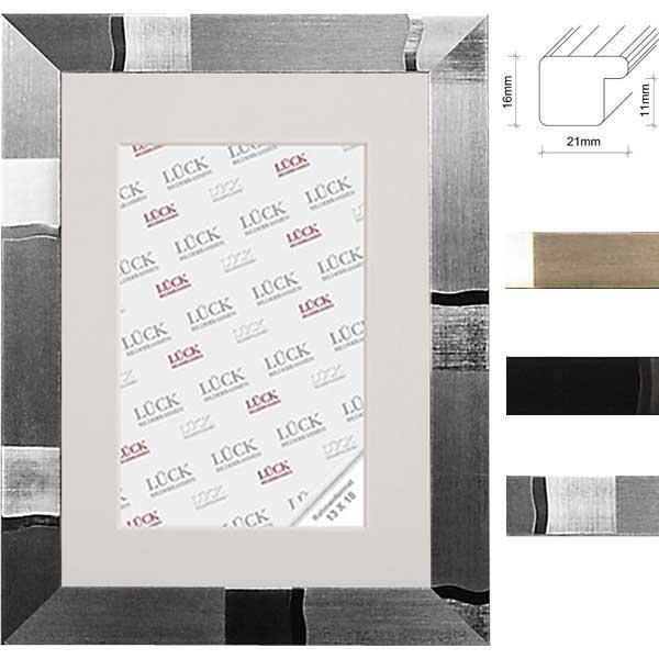 Lijst van plastiek Schramberg 9x9 cm | Schwarz design | normaal glas