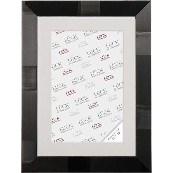 Lijst van plastiek Schramberg 9x9 cm | Schwarz design | normaalglas