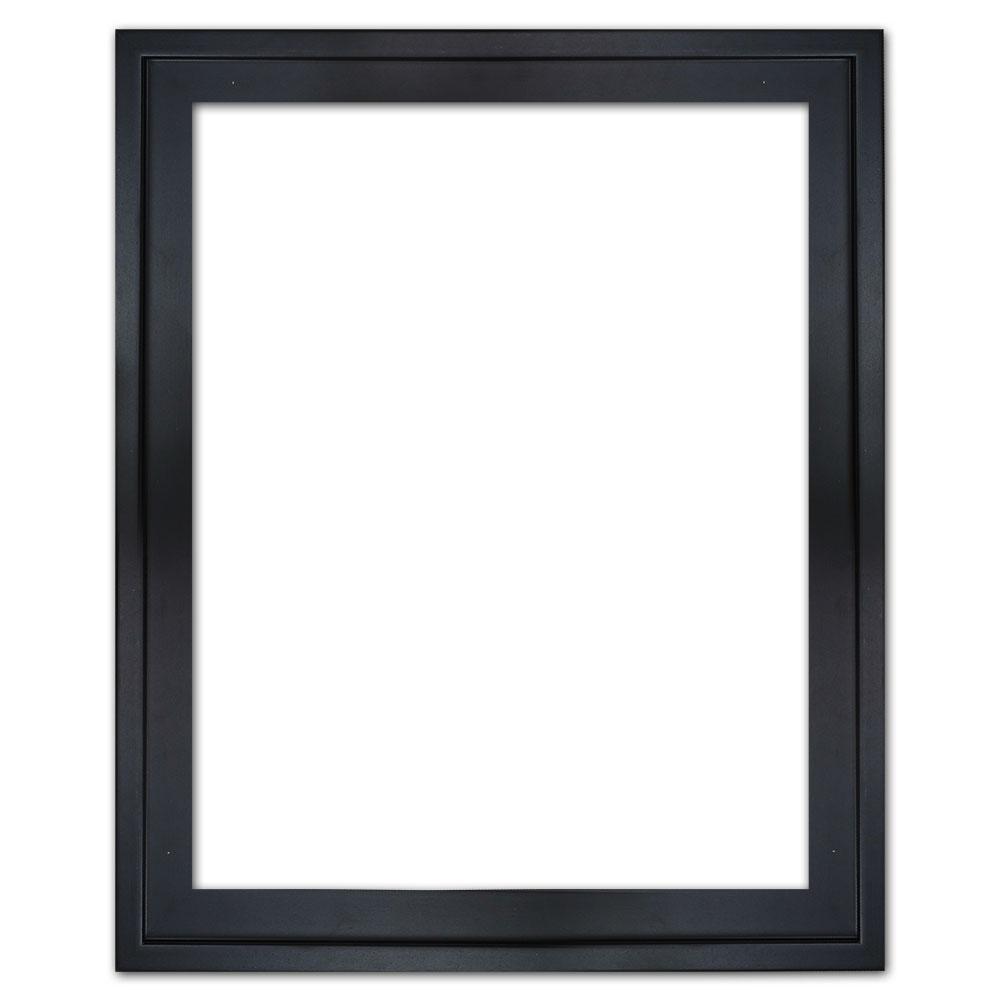 Schaduwvoeglijst Eclipse, zwaart 20x20 cm   zwart   lege lijst (zonder glas en achterwand)