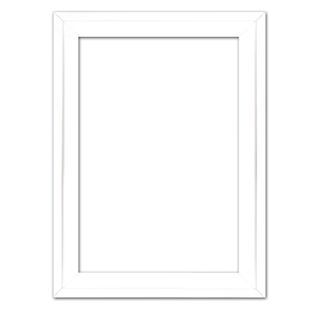 Schaduwvoeglijst Eclipse, wit 20x20 cm   wit   lege lijst (zonder glas en achterwand)