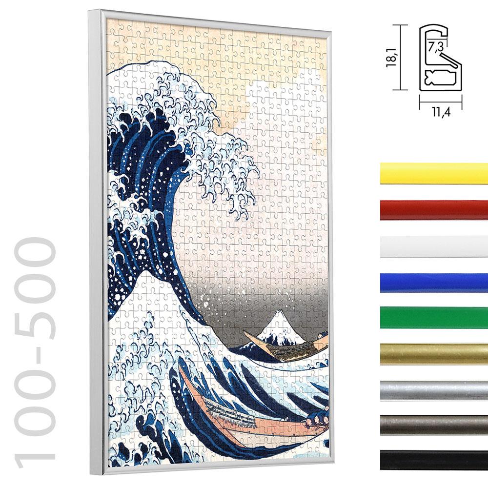 Lijst voor puzzle van plastiek voor 100 tot 500 stukken