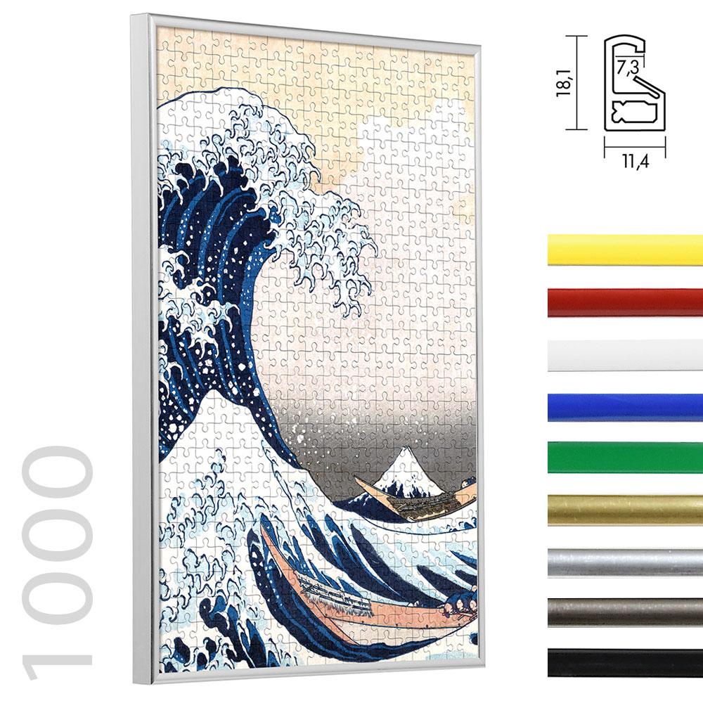 Lijst voor puzzle van plastiek voor 1000 stukken