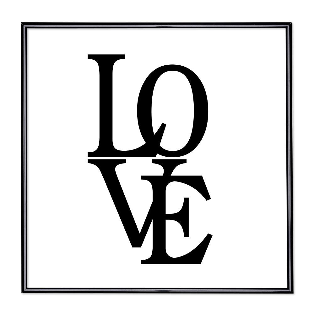 Fotolijst met slogan - Love 2