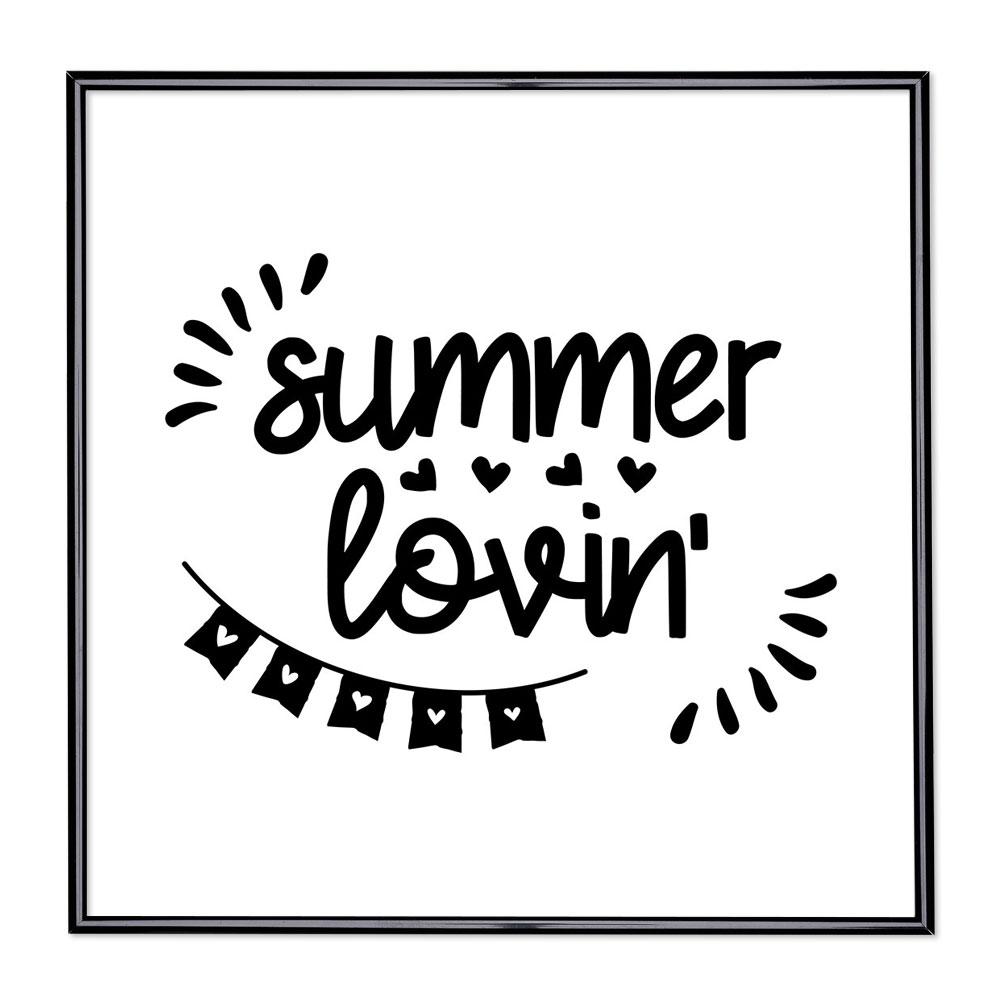 Fotolijst met slogan - Summer Lovin