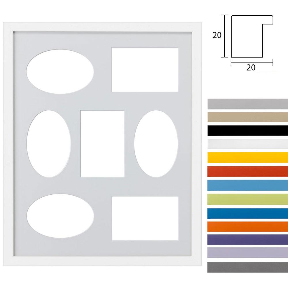7 Foto's Gallery Top Cube, 40x50 cm