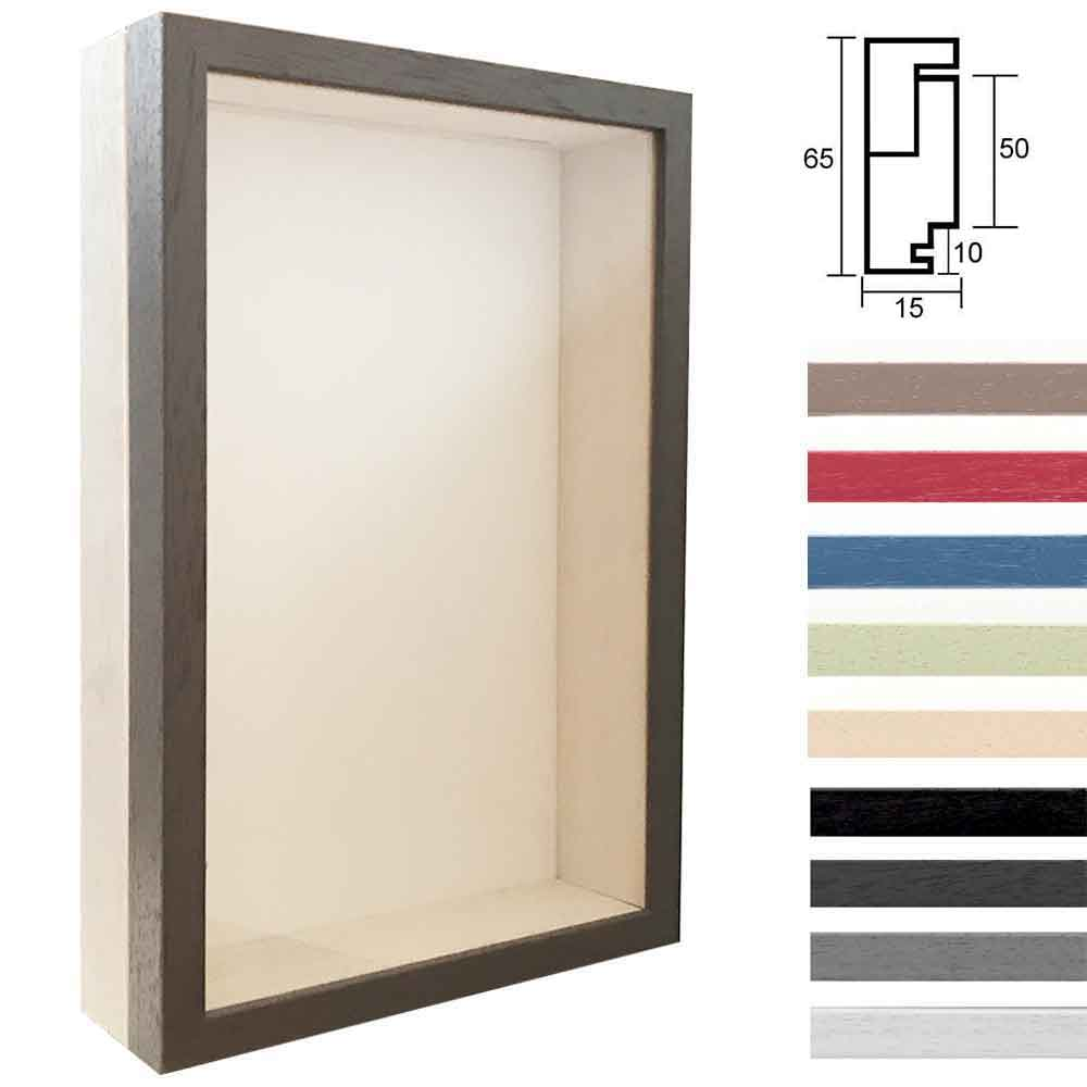 Lijst van hout Unibox