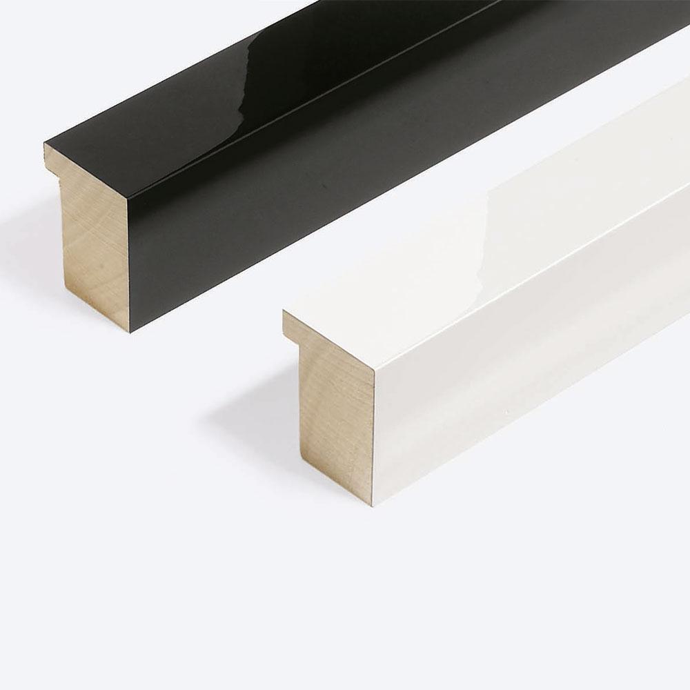 Lijst van hout Matrix B&W 39