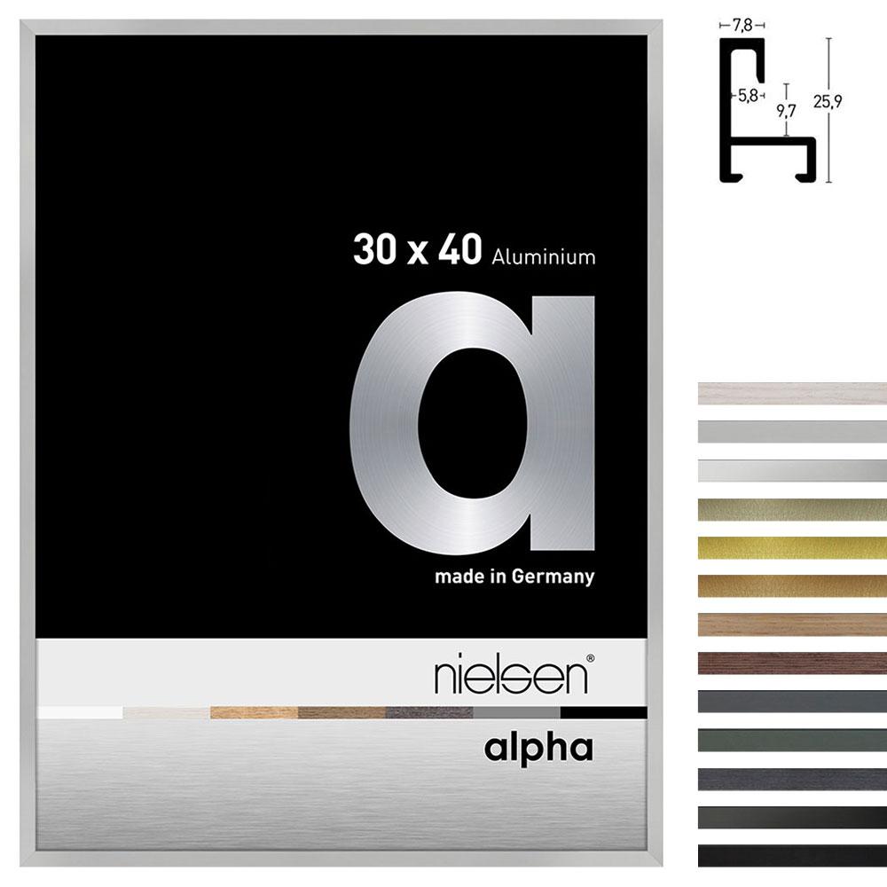 Lijst van aluminium profil alpha