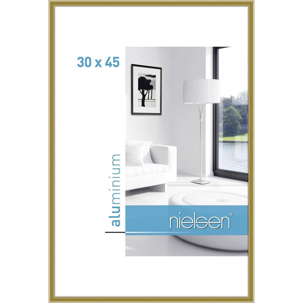 Lijst 30 X 45.Nielsen Lijst Van Aluminium Classic 30x45 Cm Goud