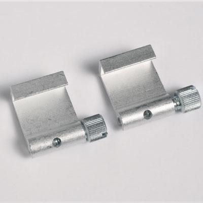 50 stukken hoeken van aluminium (max. draagvermogen 5 kg)