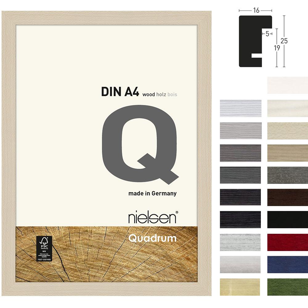 Lijst van hout Quadrum