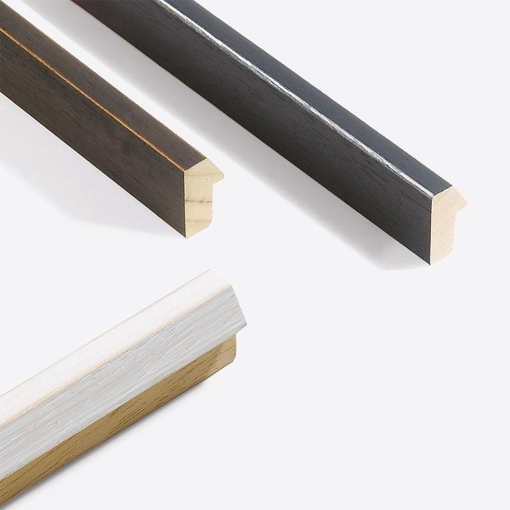 Lijst van hout Modern Shabby 19