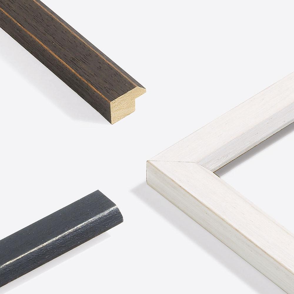 Lijst van hout op maat, Modern Shabby 28