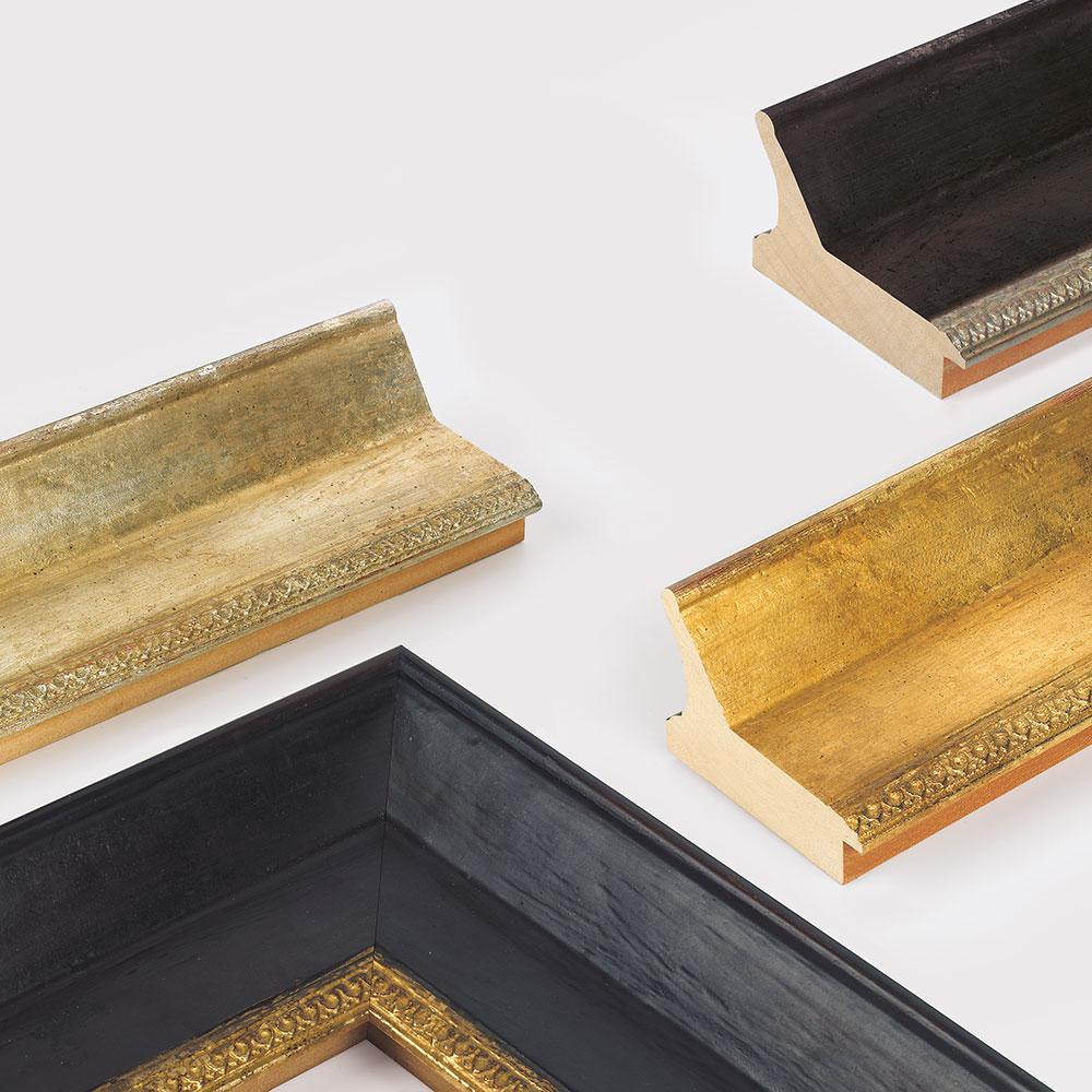 Lijst van hout Hermitage 105
