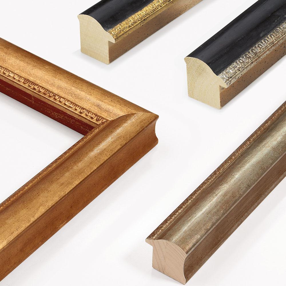 Lijst van hout Hermitage 45