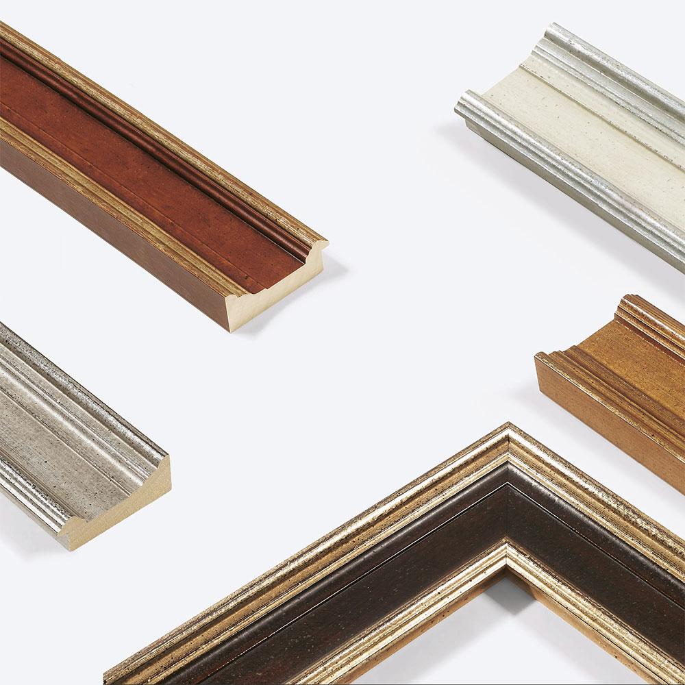 Lijst van hout Lab.Art Quattro 96